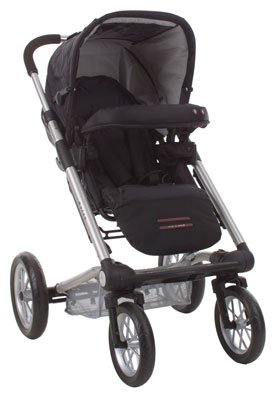 Betere Mutsy 4rider light pushchair - Cargo Black: Amazon.co.uk: Baby EI-61