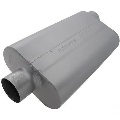 Flowmaster 943052 50 Delta Flow Muffler - 3.00 Center IN / 3.00 Offset OUT - Moderate Sound: Automotive
