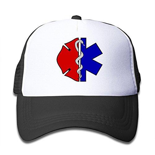 Price comparison product image EMT Cross Star Of Life Mesh Kids Snapback Cap Hat