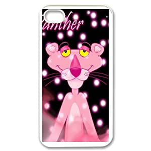 Pink Panther for iPhone 4,4S Phone Case Cover P5717