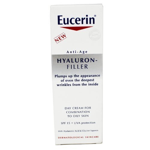 (Eucerin Anti-Age Hyaluron-Filler Day Cream For Normal to Combination Skin SPF15 50ml by Eucerin (English Manual))