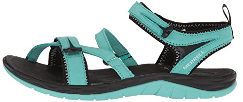 Strap Ouvert turquoise Siren Turquoise Q2 Merrell Sandales Femmes Bout Yn6q6cEp