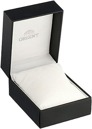 Orient Men's FET0T004D0 Classic Sun and Moon Version 2 Analog Automatic Blue Watch