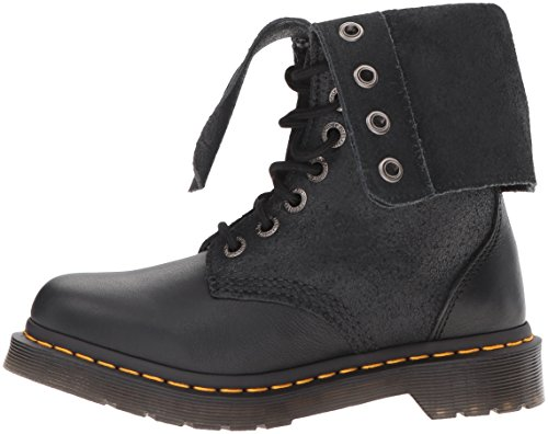 Dr. Martens Women's Hazil Boot Black Virginia Leather Boot, Black Virginia Leather, 4 Medium UK (6 US) by Dr. Martens (Image #5)