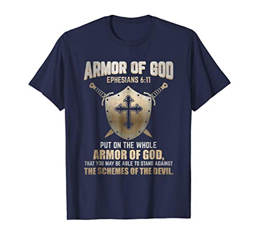 The Full Armor Of God - Ephesians 6:17 T-Shirt
