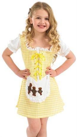 [Extra Large Girls Goldilocks Costume] (Goldilocks Costume For Kids)