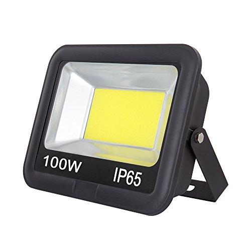 Bezyl Led Flood Light Spot light Integrated 100W IP65 Waterproof (Cool white) by Bezyl
