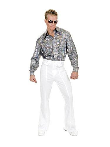 Charades Men's Disco Pants, White 46