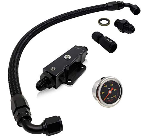 K-Motor Performance Tucked Braided Fuel line kit + for sale  Delivered anywhere in USA