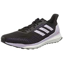 adidas Laufschuhe-ee4321, Zapatillas para Correr de Diferentes Deportes para Mujer, Cblack/Prptnt/Solred, 37.5 EU