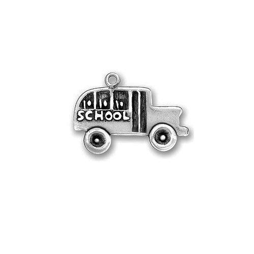 Pewter Charm - School Bus Charm