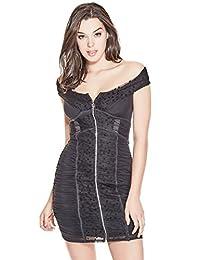 GUESS Factory Belladonna Off-the-Shoulder Dress