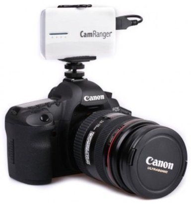 Ivation On-Camera Hotshoe Mounting Solution For The CamRanger Wireless Remote Control with LiveView for Canon & Nikon via iOS, Android, Mac and PC