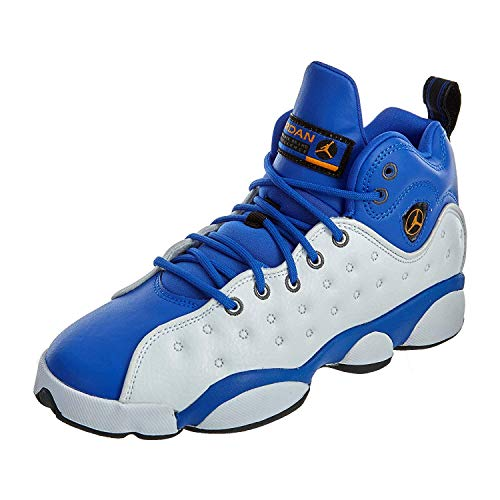 Jordan Jumpman Team II Hyper Royal/Orange Peel-White (4.5 M US Big Kid)