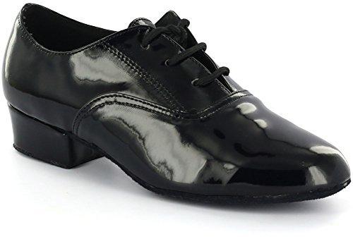 AlmaDanza Boy's Standard Dance Shoes A250503B (3, Black)