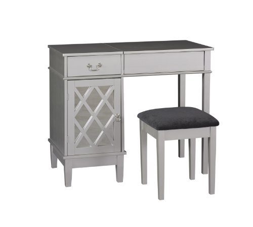 Linon Lattice Vanity Set by Linon