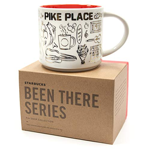 Starbucks Been There Series Limited Christmas/Holiday Edition Coffee Mug, Pike Place 14 oz ()