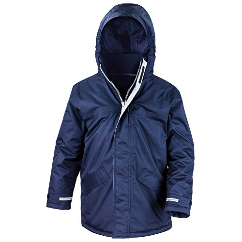 Core amp; Unisex Azul Winter Mens Ladies and Waterproof Parka Windproof Result Jacket adq81a