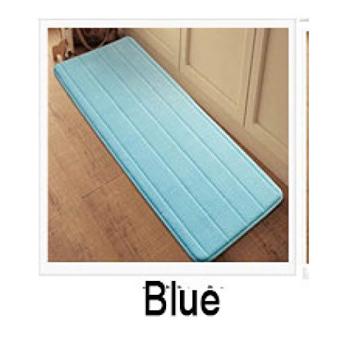 WONNA Antislip Velvet Bathroom Doormat Super Absorbent Entryway Rug Memory Foam Bathroom - Bunk 1200