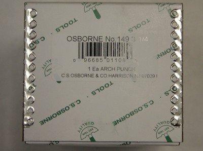 C.s. Osborne 149-3-1/4 3-1/4'' Arch Punch by C.S. Osborne (Image #5)
