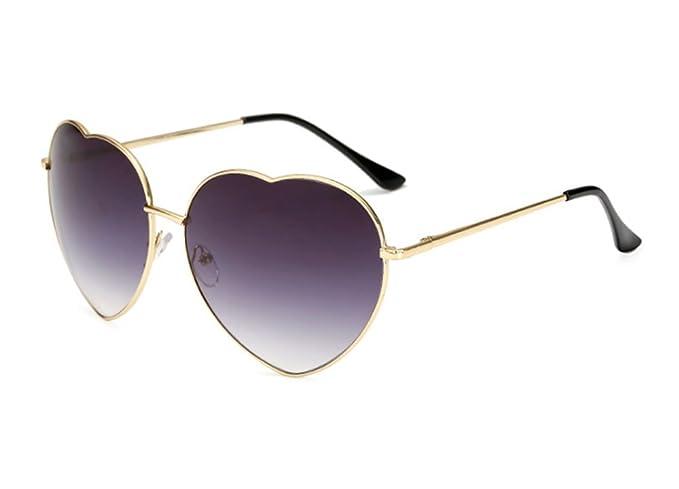 Gafas de sol graduadas en forma de corazón polarizadas retro ...