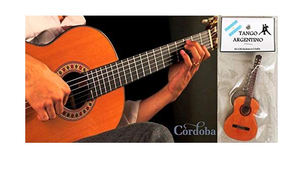 Llavero Guitarra Clásica/Guitarra Criolla Tango Argentino