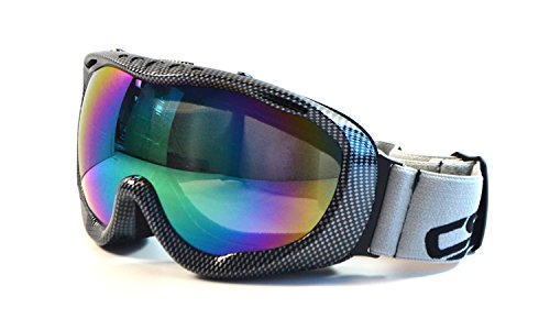 CRG Motocross ATV Dirt Bike Off Road Racing Goggles Adult T815-37 (Iridium)
