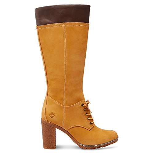 Timberland Marron Glancy Bottes Tall bottines Lace rBzrCXqw
