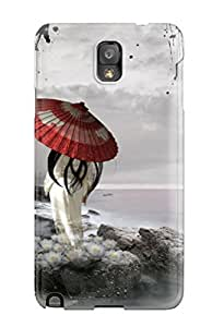 Hot Style UyJjGEW955ahlon Protective Case Cover For Galaxynote 3(japanese Art )