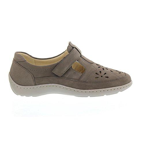 Women 's Slippers 37.5 38 38.5 39 40 41 41.5 gray Width H Waldläufer shoes Pietra (grau) ki3aqbZr9g