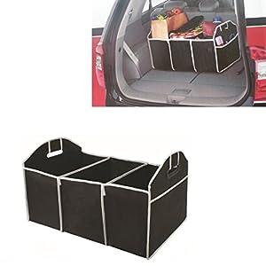 StyleZ Portable Collapsible Folding Flat Trunk Auto Organizer for Car SUV Truck Van