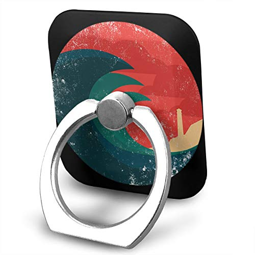 FISHISOK Wild Ocean Cell Phone Ring Holder, Finger Grip Stand Holder,360 Degrees Rotation,Compatible with iPhone,Samsung,Phone Case,etc ()