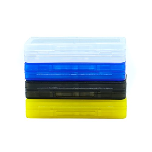Rocinha 4-In-1 Game Card Holder Case Storage Box For N Switch Game Cartridge Box,Pack of 4 ()