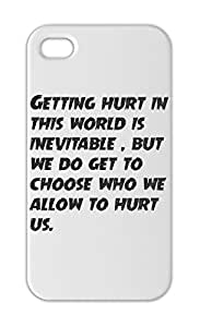 Getting hurt in this world is inevitable , but we do get to Iphone 5-5s plastic case