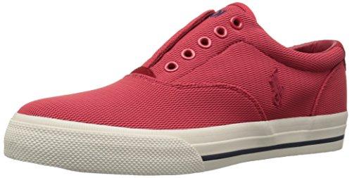 Polo Ralph Lauren Heren Vito Mesh Fashion Sneaker Rood