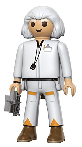 Back to the Future Doc Brown 6-Inch Playmobil Action Figure -