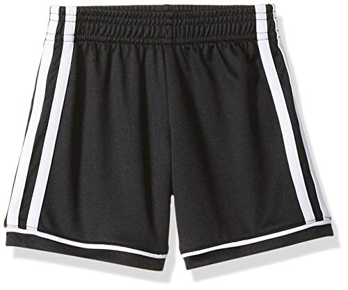 adidas Boys' Toddler Athletic Shorts, Black ark 2T