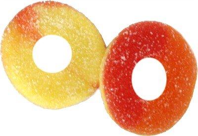 Albanese Sugar Free Peach Rings, 16oz