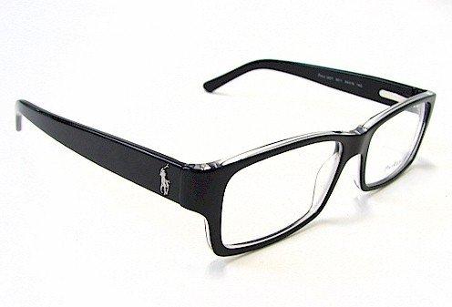 Polo Ralph Lauren 2027 Eyeglasses Black 5011 Optical Frame 54mm ...
