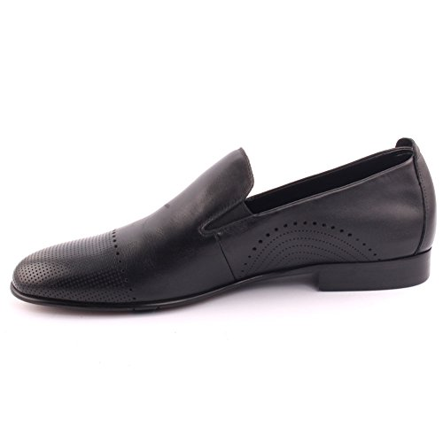Uomo 11 Pelle Party Office on 7 Oxfords 'kairho' Nero Uk Taglia Prom Traforata Wedding Slip Unze Formale ZndfTdx