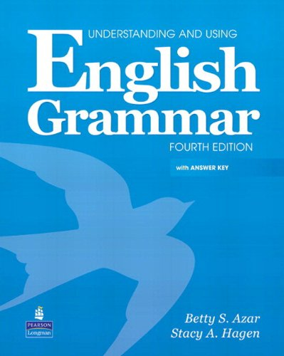 Include Answer Key (Understanding and Using English Grammar with Audio CDs and Answer Key (4th Edition))