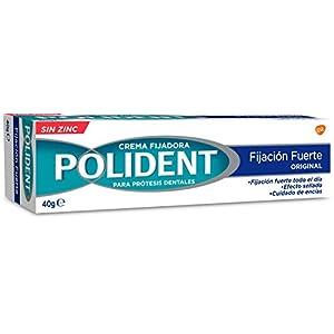 POLIDENT Crema Fijadora para dentaduras postizas Original 40 GR 10