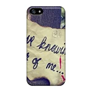 Grcases Iphone 5/5s Well-designed Hard Case Cover Thinking Of Me Protector
