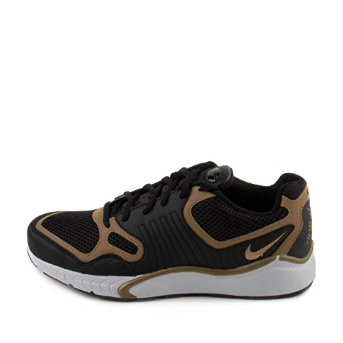 Nike , Herren Sneaker Black / Metallic Gold