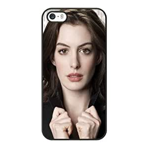 Generic Fashion Hard Back Case Cover Fit for iPhone 5 5S Cell Phone Case black Interstellar with Free Tempered Glass Screen Protector TUB-1574799