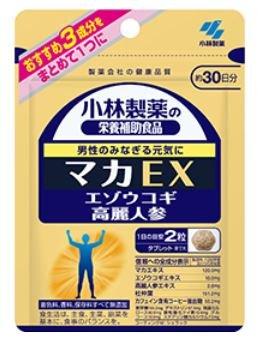 小林製薬 マカEX 60粒(約30日分)×6個セット B077MD4R19