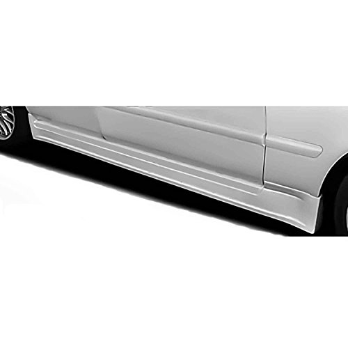 Acura TL 1996-1998 Type S Style 2 Piece Polyurethane Side Skirts manufactured by KBD Body Kits. Extremely Durable, Easy Installation, Guaranteed Fitment and Made in the USA!