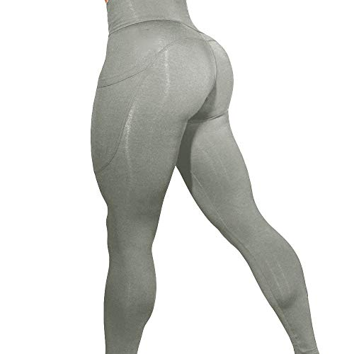 AOJIAN Yoga Athletic Pants Soft Pocket Trousers Jogger Capri Workout Sports Leggings for Women