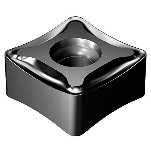 Pack of 10 Negative Chip Breaker 0.08 mm Corner Radius Sandvik Coromant N331.1D-136520M-PM 4220 Carbide Milling Insert