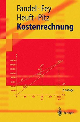 Kostenrechnung (Springer-Lehrbuch) (German Edition)